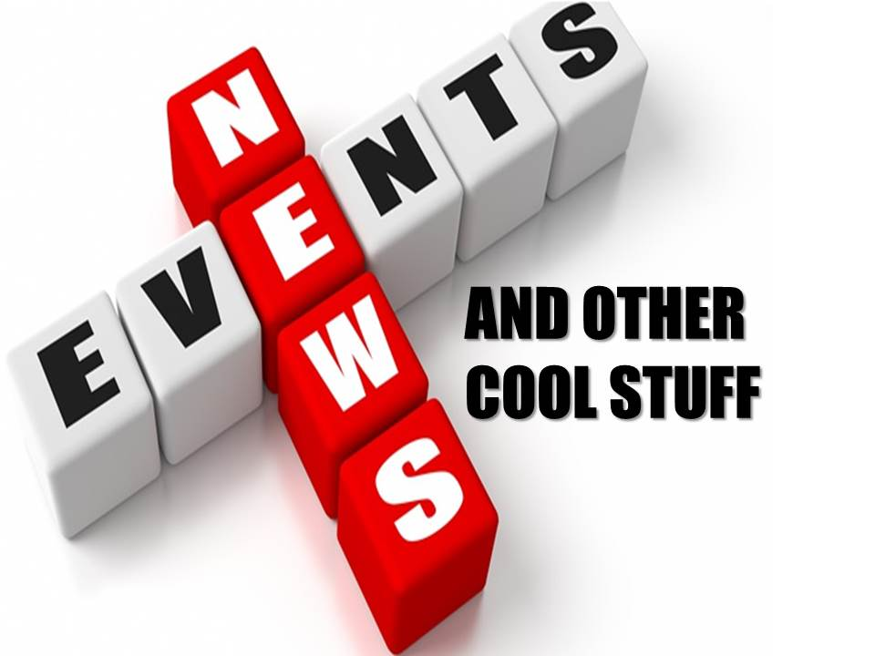 NEWS EVENTS AND COOL STUFF   Read more