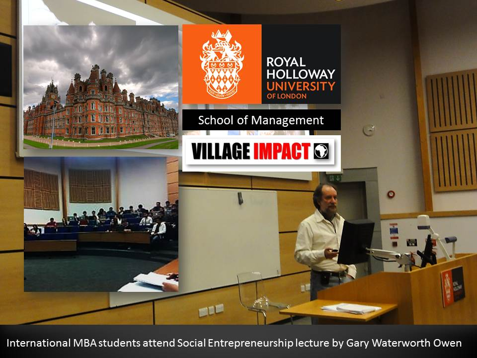 Royal Holloway Lecture Feb 2014