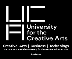 The UK's No.1 Specialist University for the Creative Arts  2018   Read More