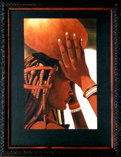 Original African Cultural Art by Waterworth Owen  Read more